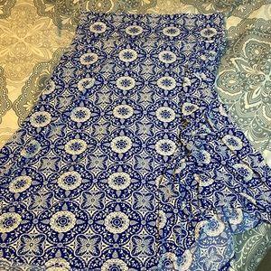 SALE: LuLaRoe Azure Skirt- sz XL